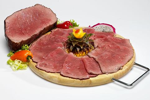 Roastbeef (3,50 € a porzione – 32,50 €/kg)